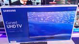 TV Samsung Curved 4K 65