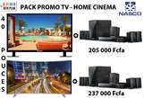 TV 40 Pouces + Home Cinema - Côte d'Ivoire