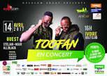 Ticket Concert Toofan - Côte d'Ivoire