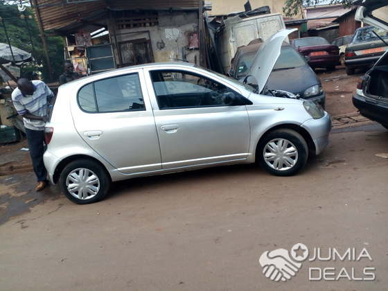 Toyota Yaris 2002 2003 Couleur Grise Centre Ville Jumia Deals