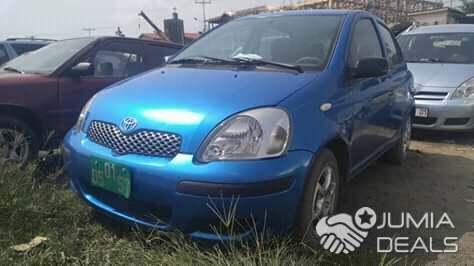 Toyota Yaris 2004 Manuelle Occasion Europe Année Yaoundé Jumia Deals
