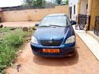 Toyota corolla 115 occasion Europe récemment immatriculée 5 mois au pays 2005 manuelle essence climatisé moteur vvti volant direct en bon état à vendre yaounde - Cameroun