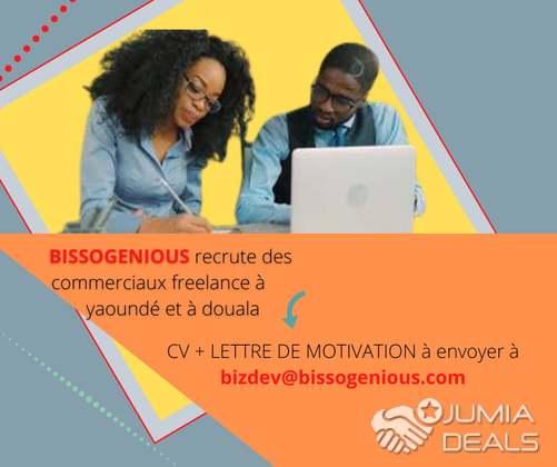 Commerciaux Freelances A Yaounde Et A Douala Bastos Jumia Deals