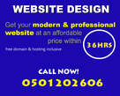 Modern and Premium Website Design - Ghana