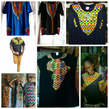African Print T-shirt - Ghana