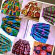 African Print Skirts - Ghana