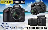 Nikon D3200 Reflex Boitier Nu - Madagascar