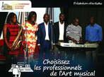 Prestation de Groupes Musicaux Professionnels - Côte d'Ivoire
