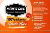 Stoneless Ofada Rice - Nigeria