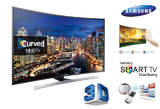 Samsung 4K Curved 3D Ultra HD Smart TV - Nigeria