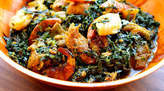 Vegetable Soup And Swallow - Nigeria