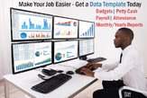 Data Templates - Accounts, HR, Research, Admin, etc. - Nigeria
