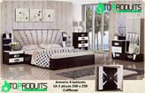 Chambre à coucher avec lumière led - Sénégal